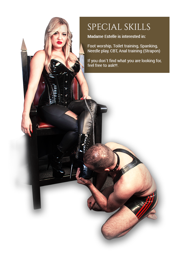 dominatrix toilet training